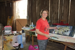Artist Residency_South Hill Goulburn_Marion Chapman in the barn studio_w900px