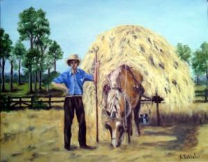 Harvesting Hay c.1930
