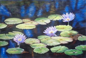 Susan Smart - Waterlilies 684