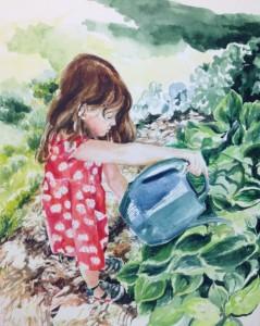 schuster-callus-jan2 girl watering