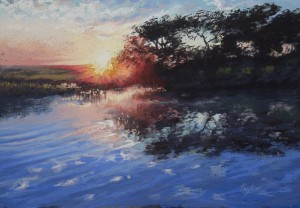 Tricia Taylor First Light 45cm x 35cm